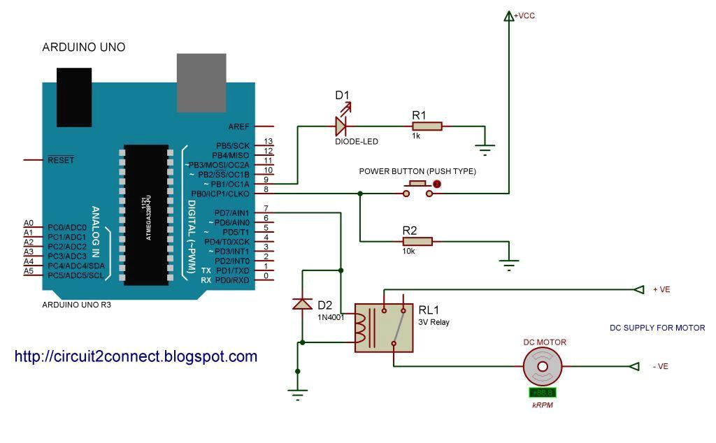 Toggle switch to push button switch conversion Arduino or