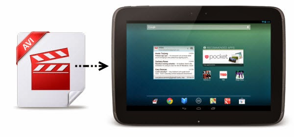 Copy DVD ISO/IFO files to Google Nexus 10