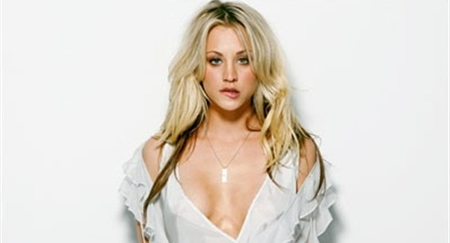Kaley Cuoco Star Of The Big Bang Theory Has Just Leaked To Web As