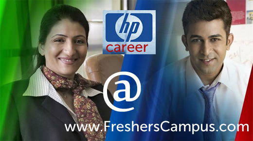 HP india career openings