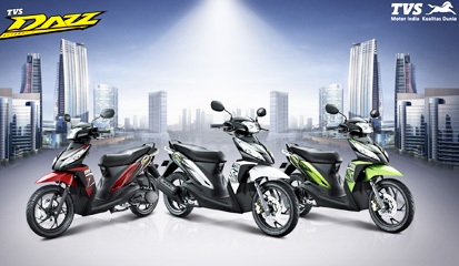 Spesifikasi lengkap dan harga TVS Dazz Matik keren dengan berbagai kelebihan