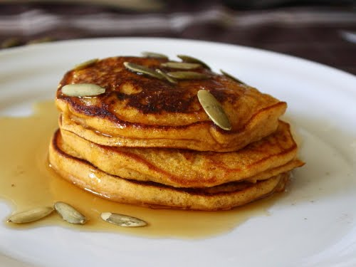 A Perfect Time for Pumpkin Pancakes