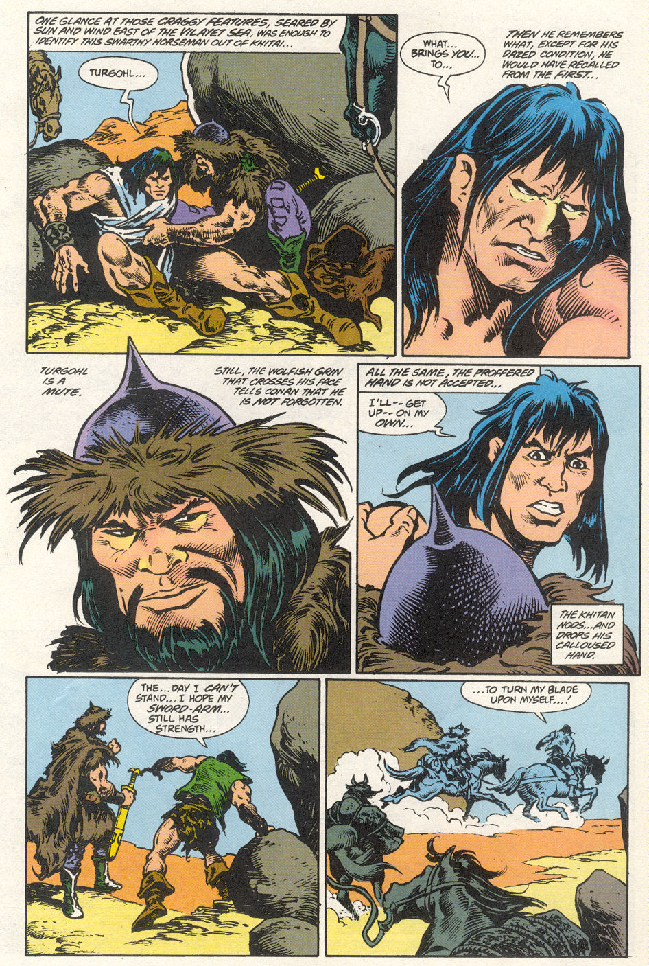 Conan the Barbarian (1970) Issue #275 #287 - English 20