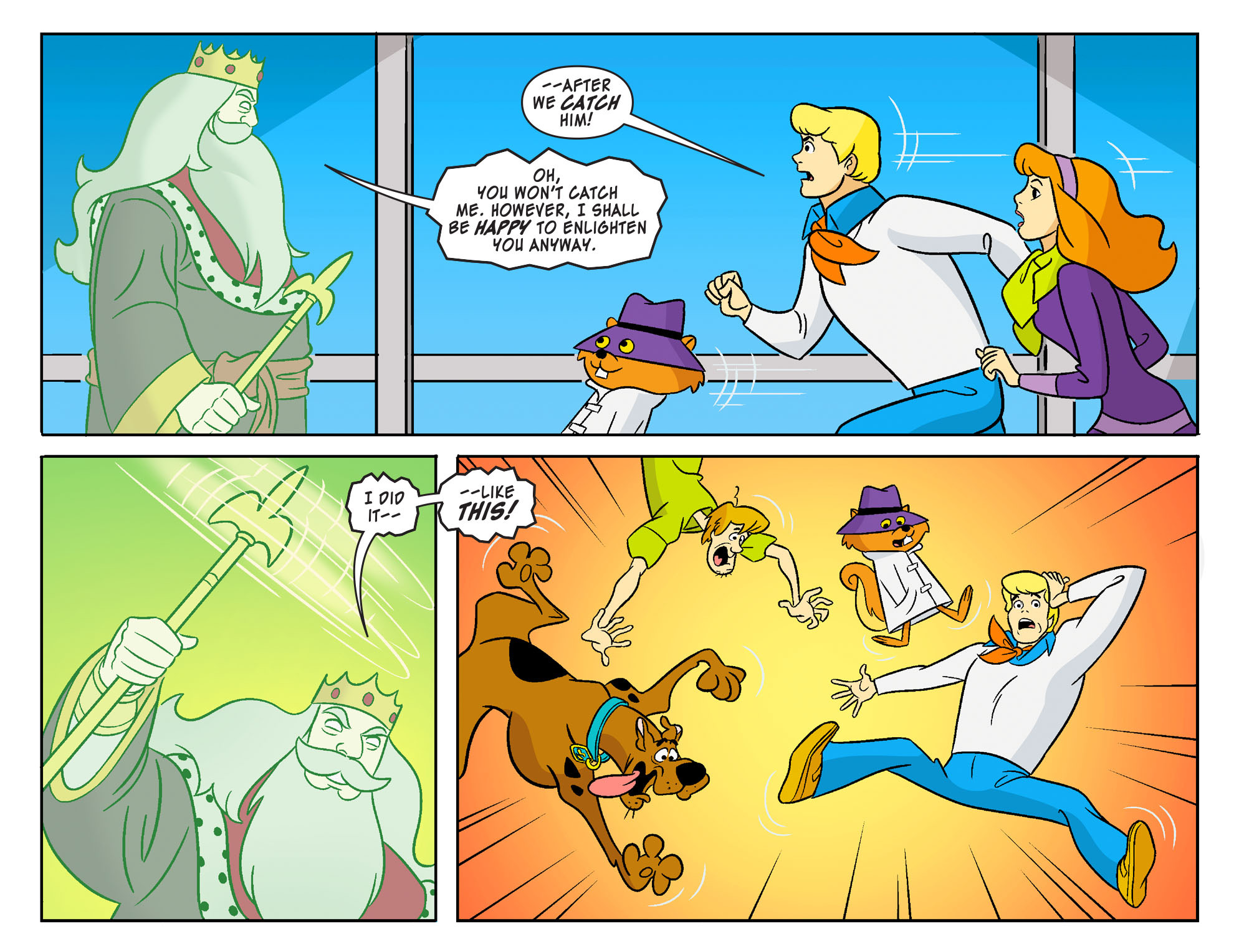 Read online Scooby-Doo! Team-Up comic -  Issue #21 - 17