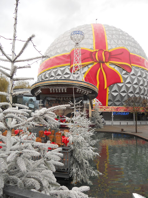 Amusement park Christmas Europe