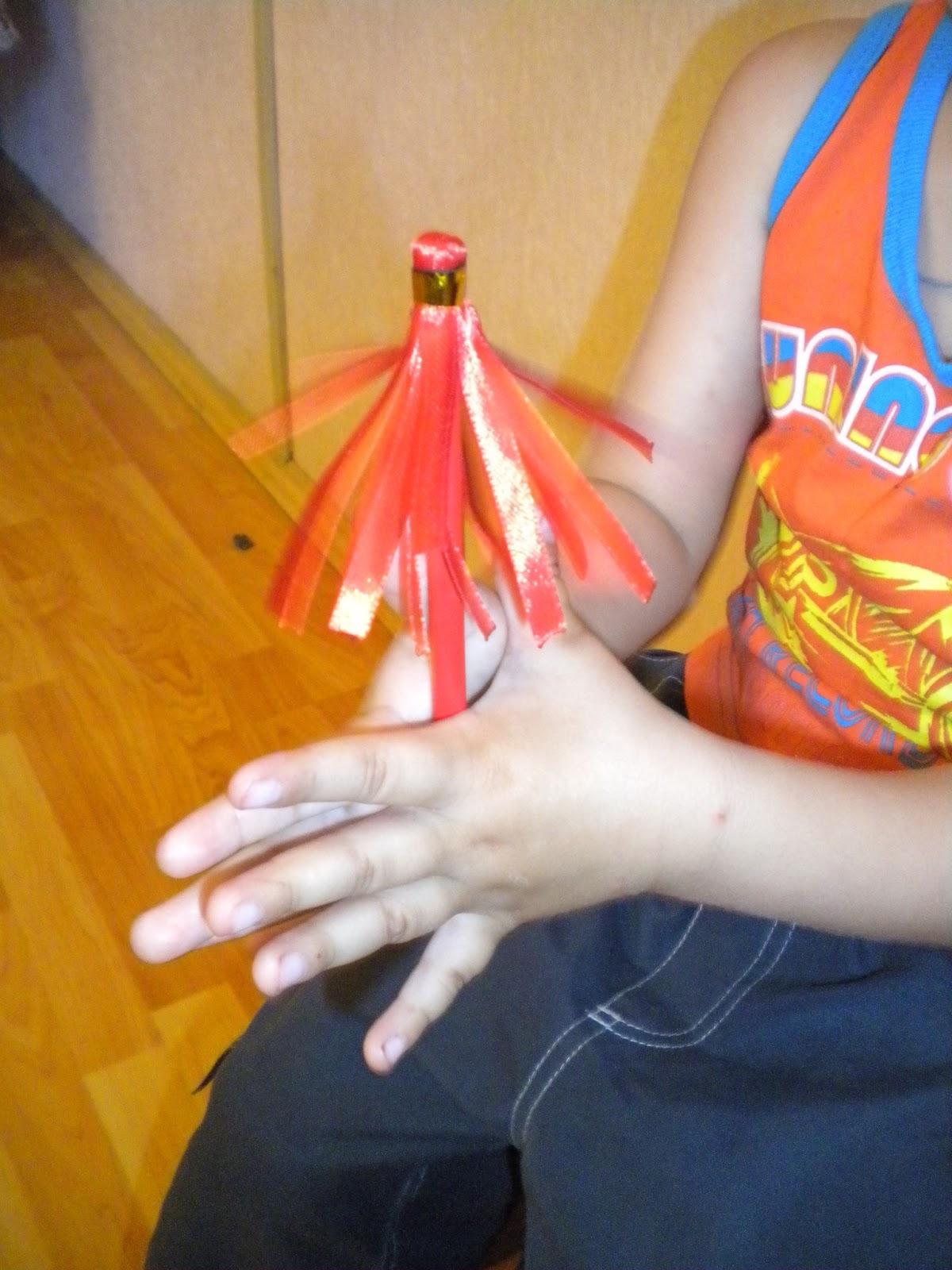 Как сделать султанчики своими руками из дождика