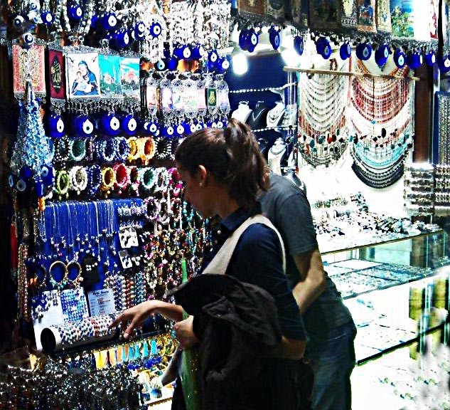 jewellery at Grand Bazaar Istanbul