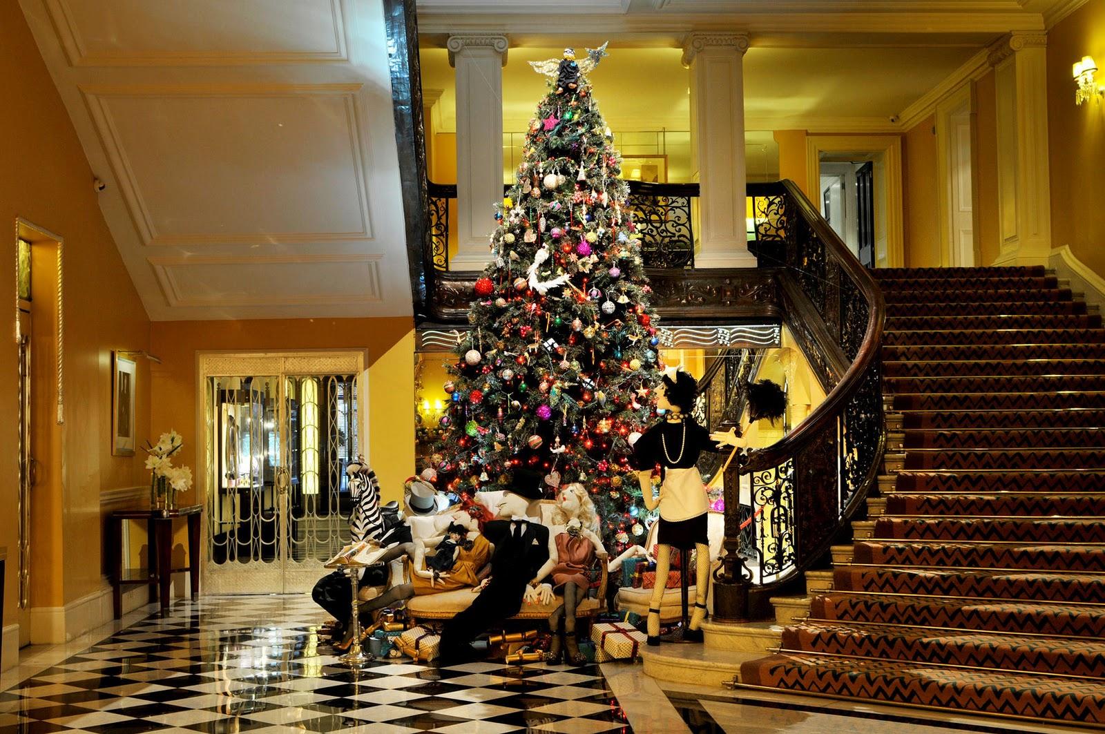 Examiner lanvin and mary katrantzou design london christmas trees