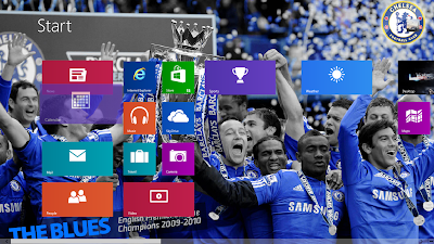 Chelsea FC 2013 Theme For Windows 8