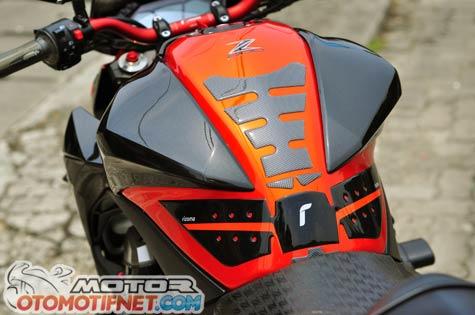 Modifikasi Kawasaki Z800 Minimalis Tapi Bengis