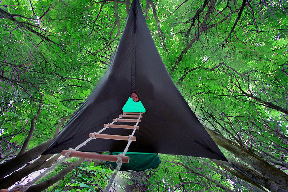 This Special Tent Lets You Experience The Magic Of Hanging