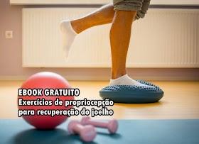 Exercícios de propriocepção para recuperação do joelho