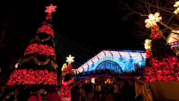 Virginia Beach Attractions Busch Gardens Christmas Town