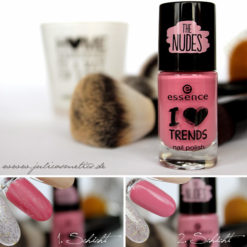 essence The Nudes nail polish - 07 hope for love