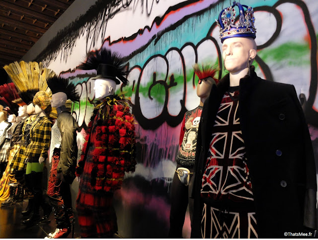King Punk inspiration british Jean-Paul Gaultier, expo JPG Grand Palais Paris