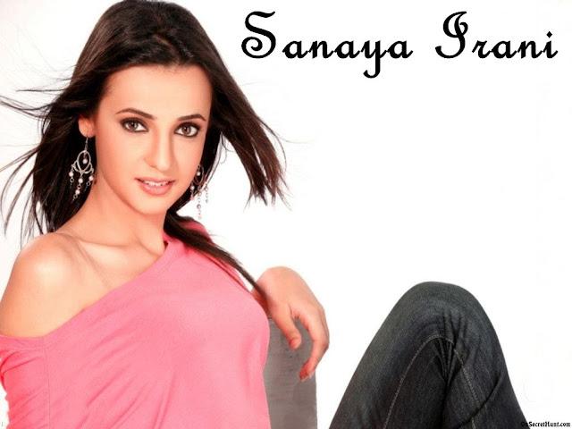Sanaya Irani HD Wallpaper