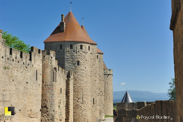 Carcassonne les remparts photo pascal blachier