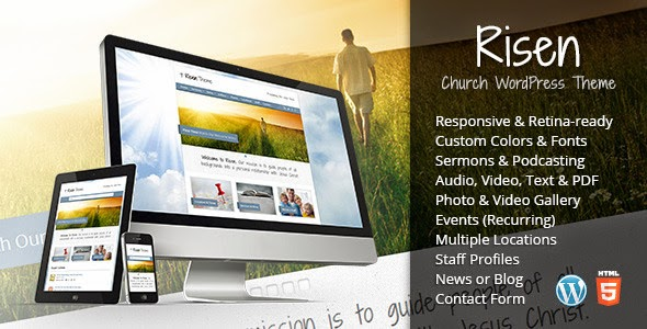 Risen Church - WordPress Theme