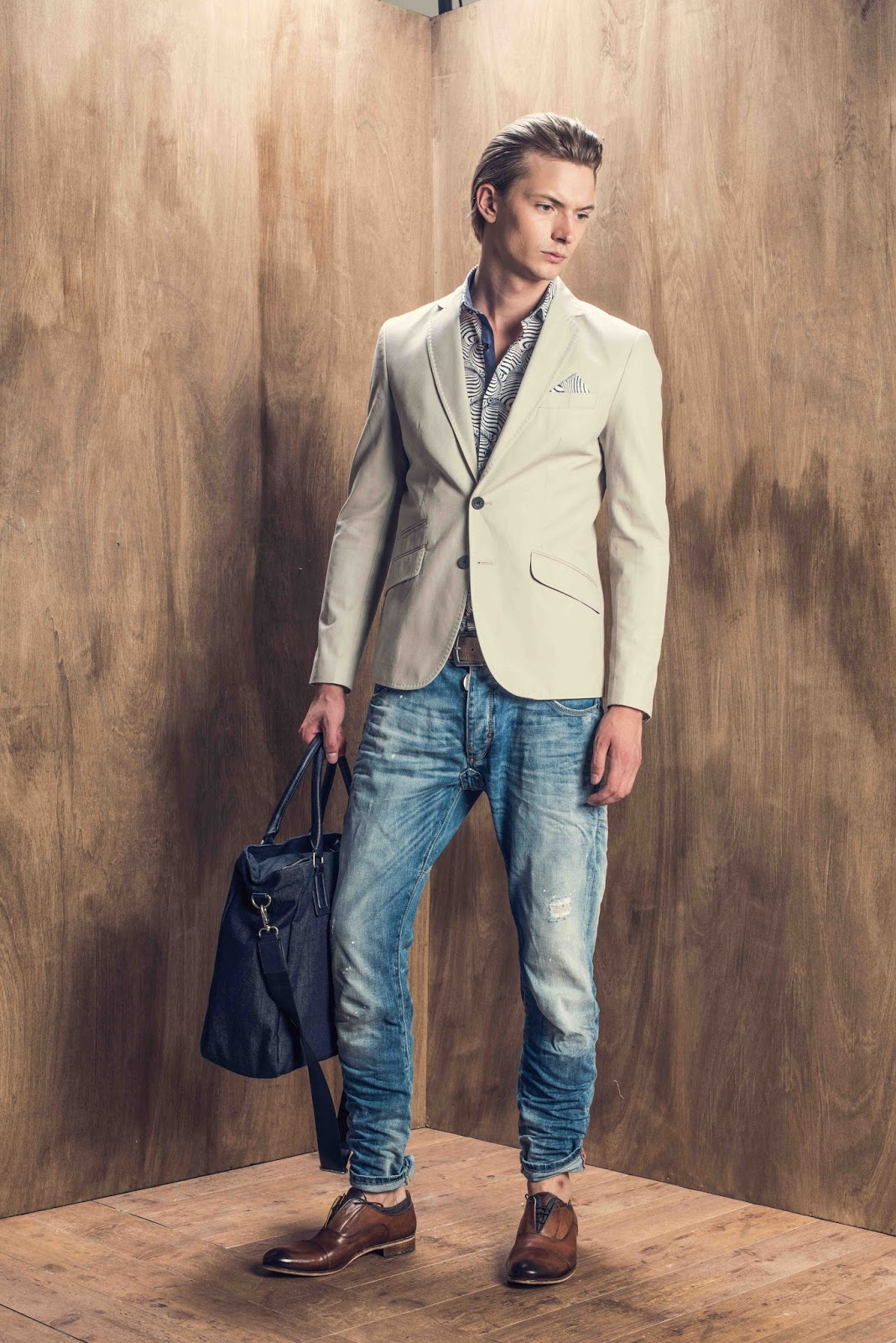 Antony Morato s campaign consists of 3 short videos highlighting the SS15  collection  27bff144b86