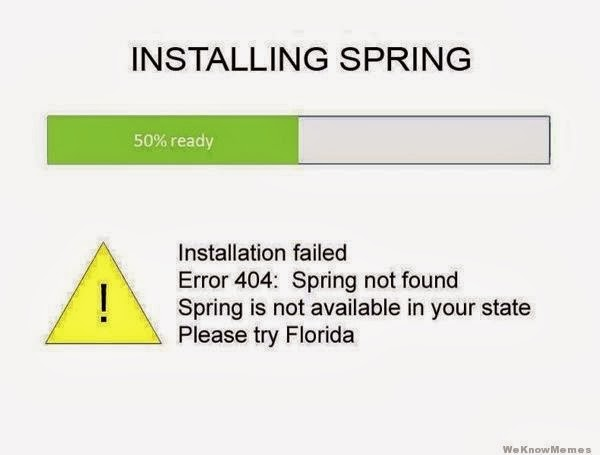 spring failed to load cartoon
