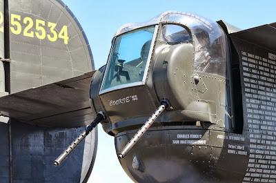B-17 WWII gunner