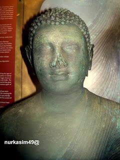 Arca Buddha dari mazhab seni Amaravati ditemukan di Mamuju