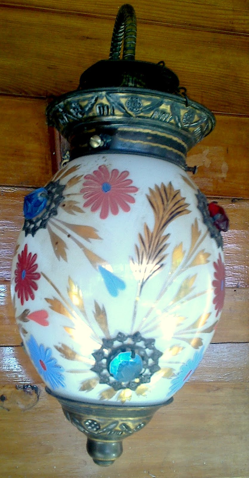 Beautiful Chinaware Lampshed