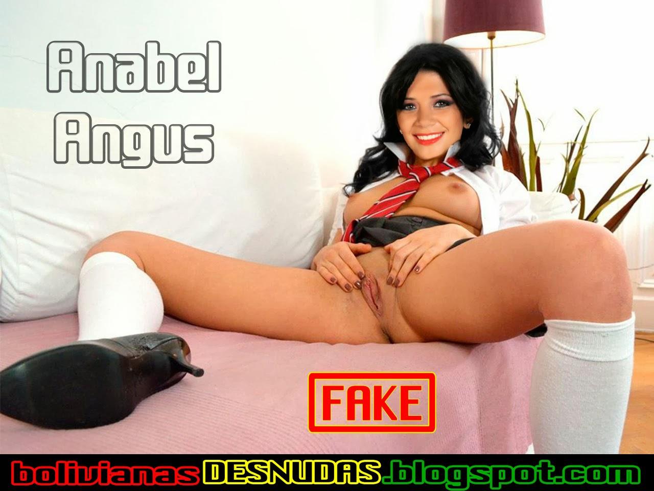 Bolivianas Famosas Desnudas Fake Anabel Angus Colegiala
