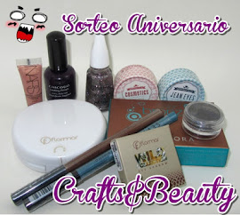 SORTEO EN CRAFTS  BEAUTY