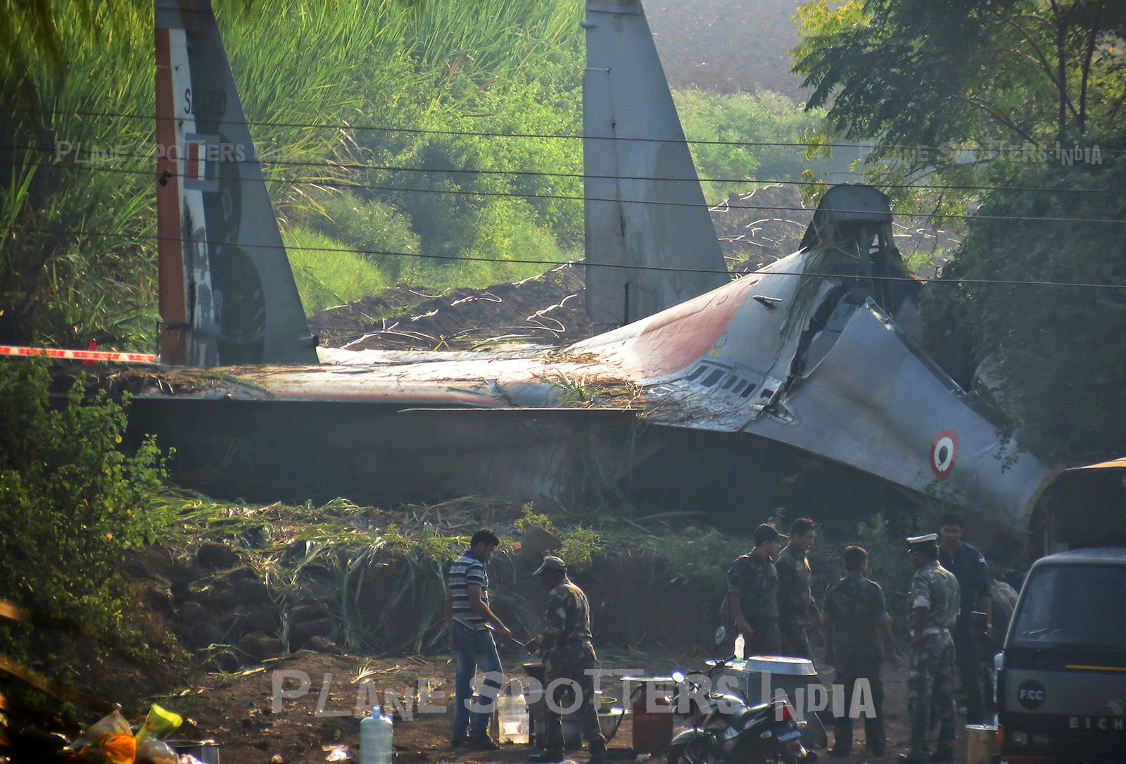 Pilot Near Me >> Indian Air Force SU30 Crashed Near Pune - SB050 | Plane Spotters India - PlaneSpotters.in ...