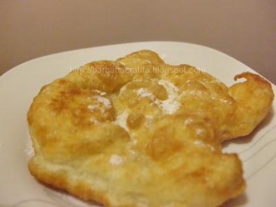 Gogosi simple din aluat de paine reteta