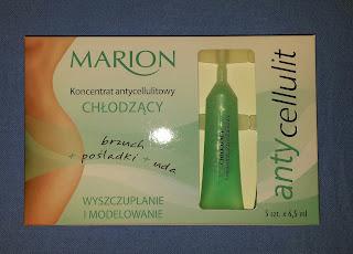 Marion, Koncentrat antycellulitowy chłodzący