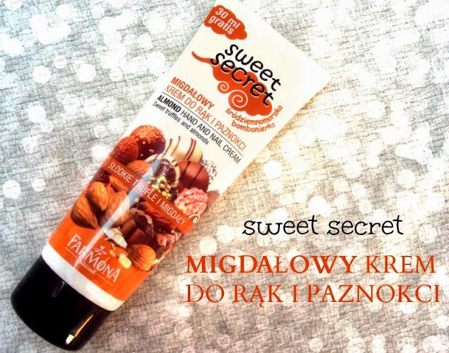 Farmona, Sweet Secret, Migdałowy krem do rąk i paznokci `Słodkie trufle i migdały