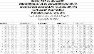 Hoja De Respuestas Examen De Ascenso
