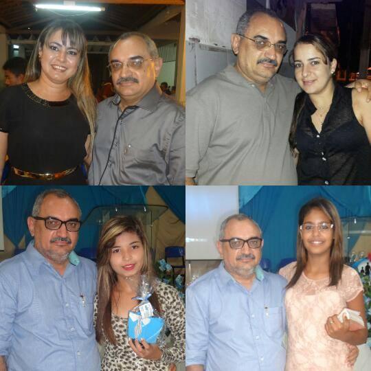 Adellma, Gil, Alessandra e Eduarda