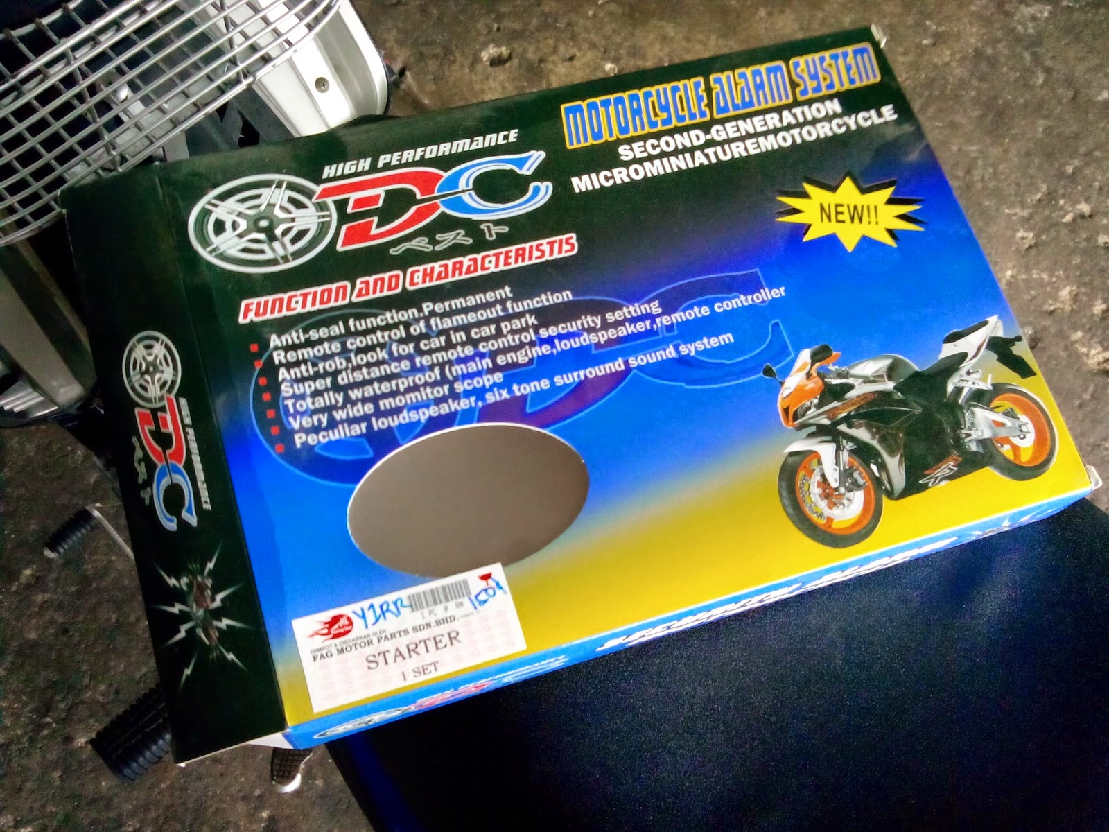 Modification My Yamaha 135LC v1 episode 4