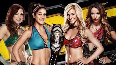 Charlotte Sasha Banks Bayley Becky Lynch WWE NXT Divas Women wrestling