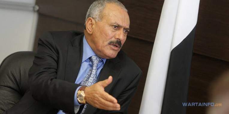 Foto Ali Abdullah Saleh Presiden Yaman yang menjabat paling terlama di dunia