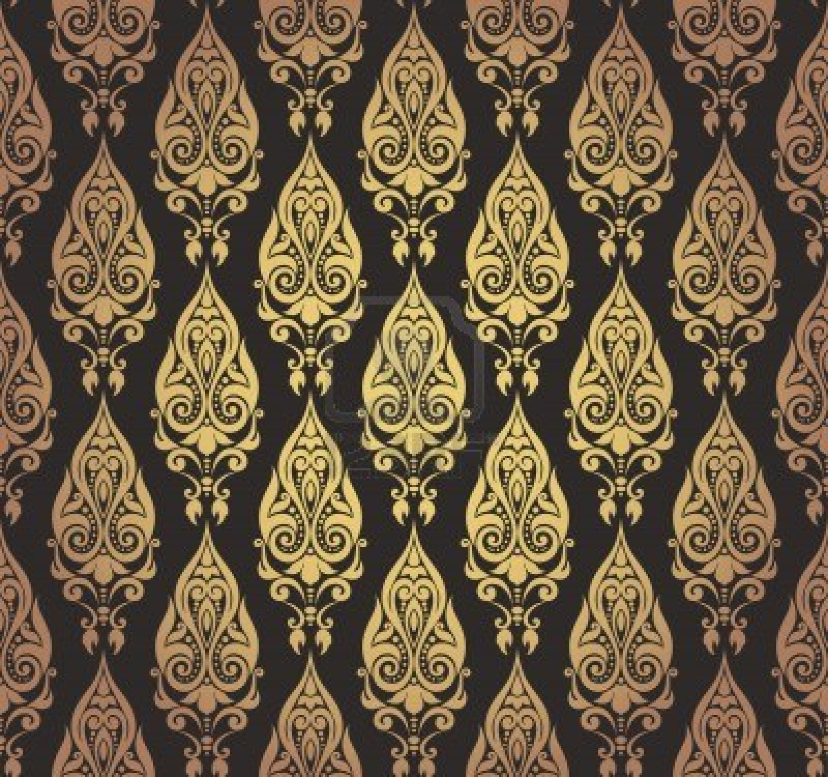 Lorna battersby baroque for Baroque style wallpaper