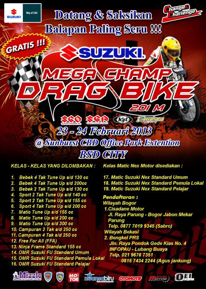 "Search Results for ""Kata Kata Racing Drag Bike"" – Calendar 2015"
