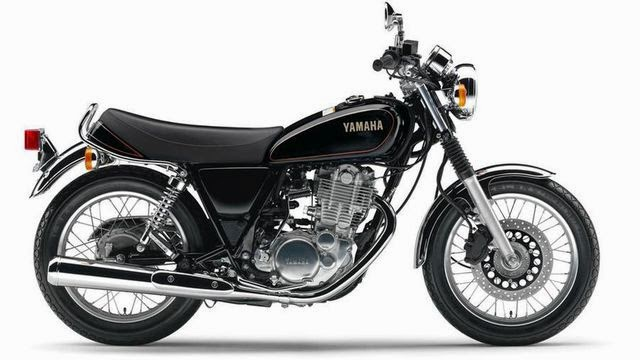 Yamaha SR400 2014 Pictures Gallery
