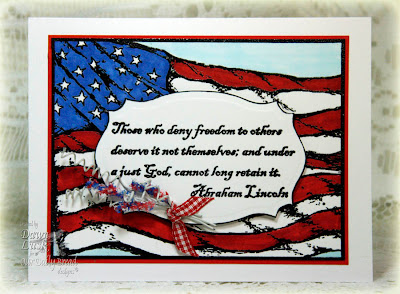 Our Daily Bread designs God Bless America Designer Dawn Lusk