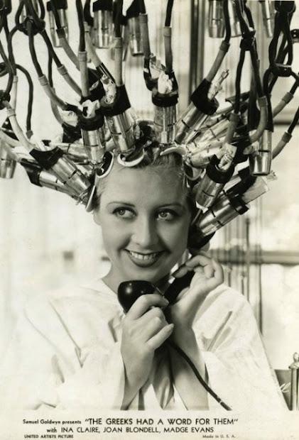 vintage of hair dryers