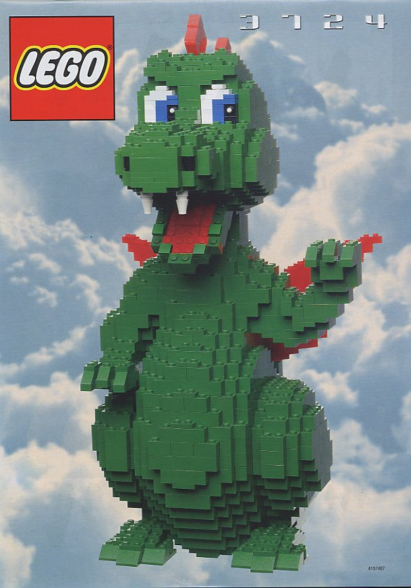 Gimme Lego: Here there be Dragons...