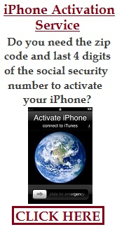 iPhone Activation Service