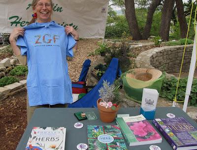 Annieinaustin, Austin Herb Society booth Zilker 2011