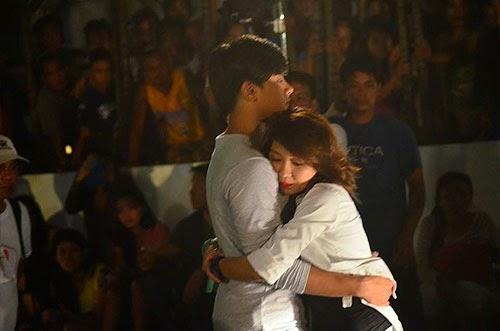 Kathryn Bernardo and Daniel Padilla (KathNiel) shoot She's Dating the Gangster in Legazpi City, Albay