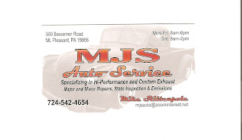 MJS Auto Service Sponsor