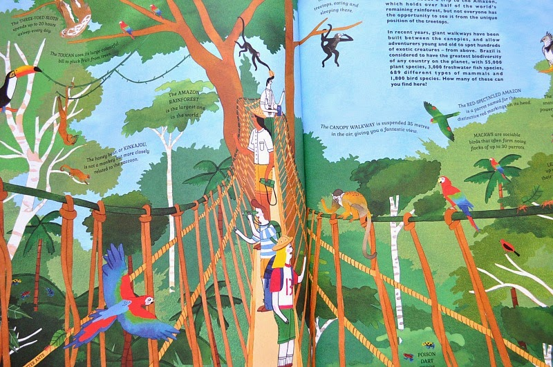 Canopy Walkway, Atlas of Adventure, kids book