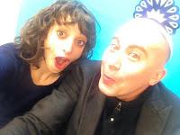 Nicole Antonette & Dan Bifano inthe Hotline Studio at CTN.